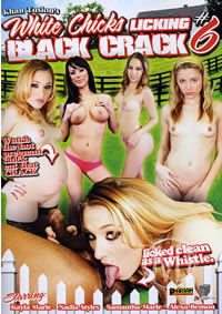 White Chicks Licking Black Cracks 06