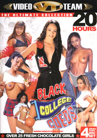 20hr Black College Coeds {4 Disc Set