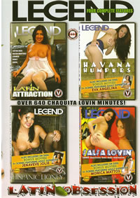 Latin Obsession {4 Disc Set}