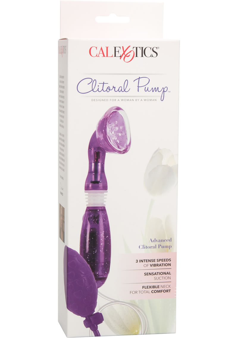 Advanced Clitoral Pump - Purple