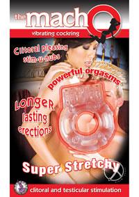 Macho Vibrating Cockring Flesh