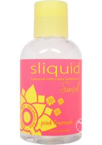 Sliquid Naturals Swirl Pink Lemonade 4.2