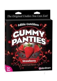 Edible Crotch Gummy Panties Straw