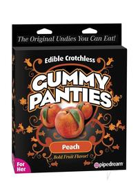 Edible Crotch Gummy Panties Peach