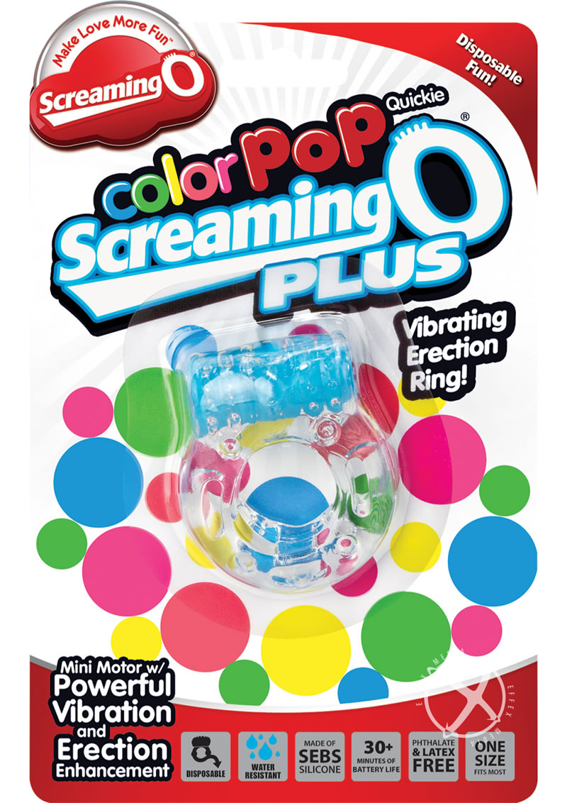 Colorpop Quickie Screaming O Plus Blue