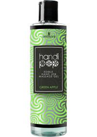 Handipop Massage Gel Green Apple 4.2oz