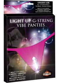 Light Up G String Vibe Panties
