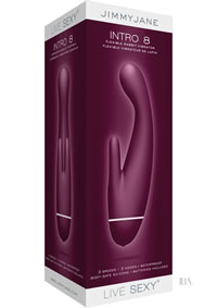 Jimmy Jane Live Sexy Intro 8purple(disc)