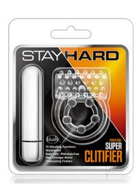 Stay Hard Vibrating Super Clitifier Clea