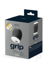 Grip Recharge Vibrating Sleeve Black