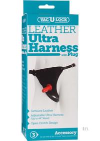 Leather Ultra Harness 3000 W/plug