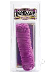 Japanese Cotton Bondage Rope Purple