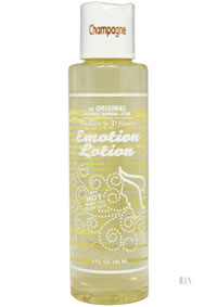 Emotion Lotion Champagne