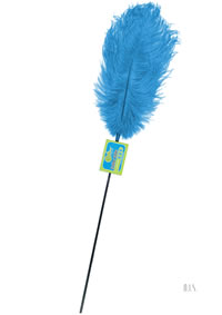 Feather Tickler - Lusty Turquoise(disc)