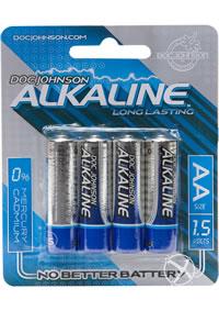 Dj Alkaline Batteries Aa 4pk