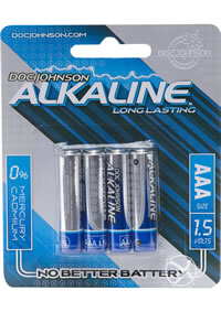 Dj Alkaline Batteries Aaa 4pk