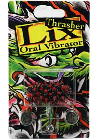 Lix Thrasher Tongue Oral Vibratr Red/blk
