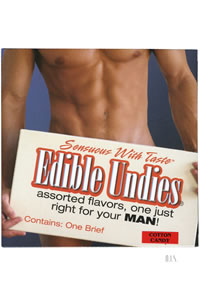 Edible Undies Male Cotton Cndy