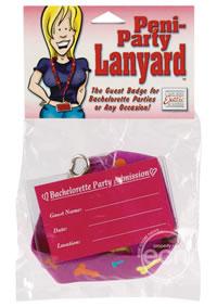 Peni Party Lanyard