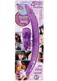 Bendable Double Dong - Lavender