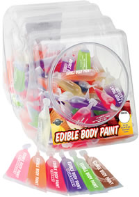 Edible Body Paints 10ml 120/bowl