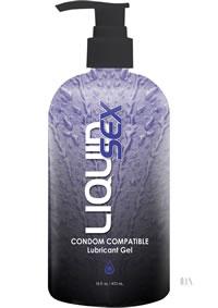 Liquid Sex Condom Compat Lube 16oz Pump