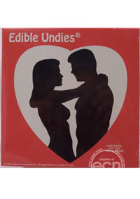 Edible Undies 3pc Vanilla