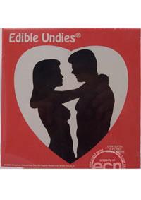 Edible Undies 3pc Vanilla (disc)