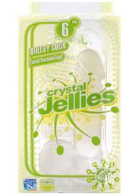 Crystal Jellies Ballsy Cocks 6 Clear