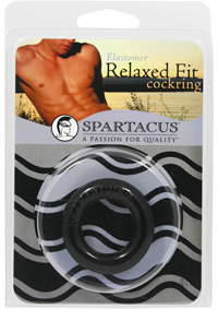 Relaxed Fit Elastomer C Ring - Black
