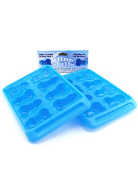 Blue Balls Penis Ice Tray 2/pk