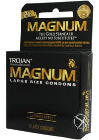 Trojan Magnum Large 3`s