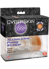 Cyberskin Ice Action View Pussy Stoker