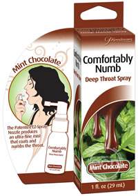 Deep Throat Spray Mint/choc