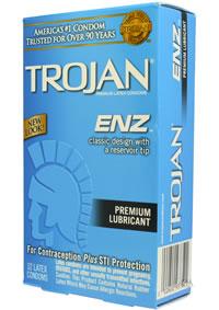 Trojan Enz Lubricated 12`s