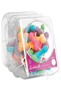 Bp Jolly Pecker Candy Pops 50/display