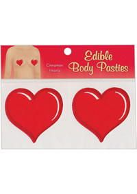 Edible Pasties - Cinnamon Heart