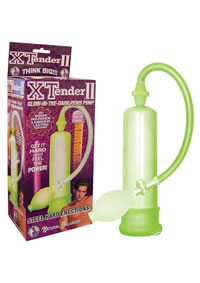 Xtender Glow In Dark Penis Pump