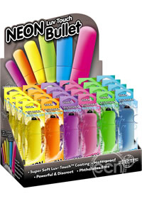 Neon Luv Touch Bullet 24/display