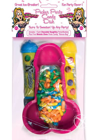 Pecker Party Candy Dish 3pk W/candy