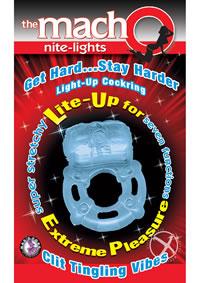 Macho Nite Lights Blue