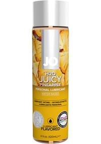Jo H2o Flavor Lube Juicy Pineapple 4oz