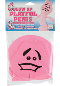 Blow Up Playful Penis Centerpiece