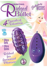 Vibrating Ridged Bullet Purple
