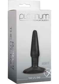 Platinum Lil End Charcoal