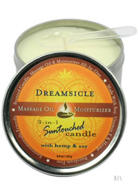 Round Massage Candle Dreamsicle