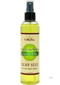 Hemp Seed Glow Oil Naked Woods 8oz
