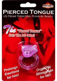 Pierced Tongue Purple