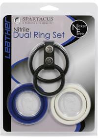 Nickel Free Interch Dual C Ring Set