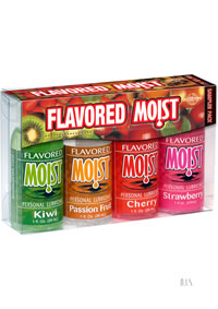 Flavored Moist Sampler 4/pack